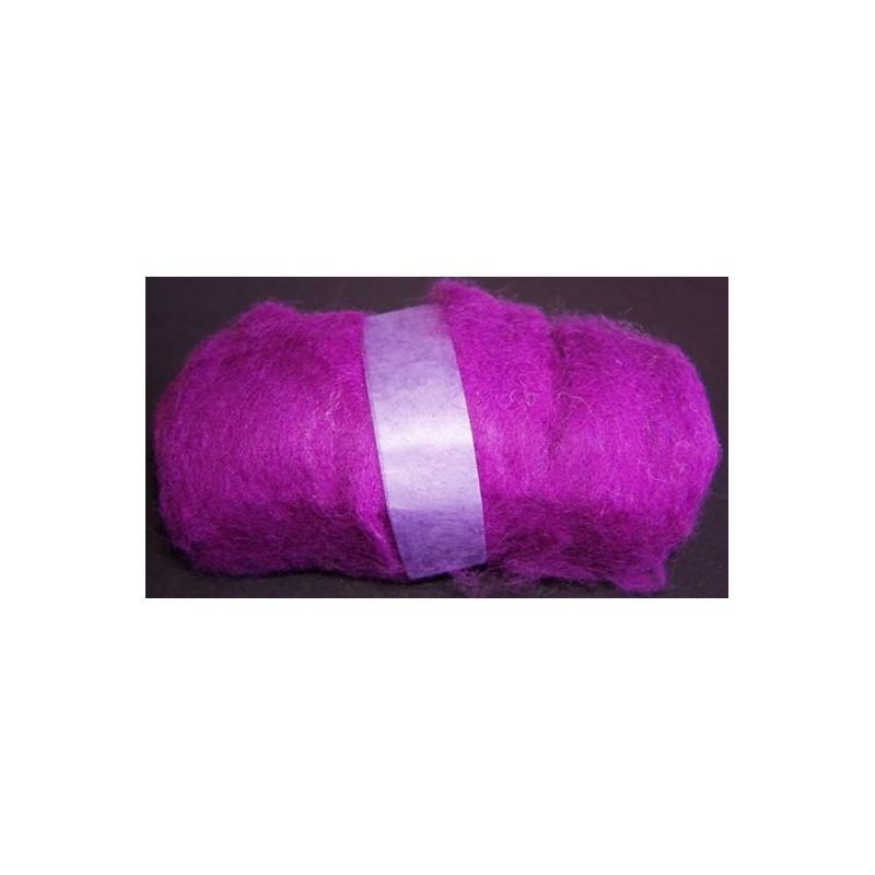 Madejas de fieltro de 100 gr. Violeta