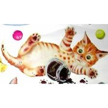 Papel decoupage Gatos