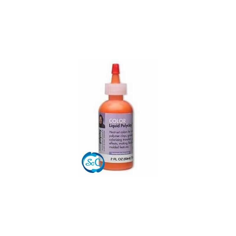 Kato Polyclay liquido color Naranja
