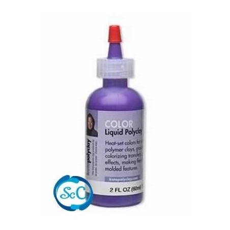 Kato Polyclay liquido color Violeta
