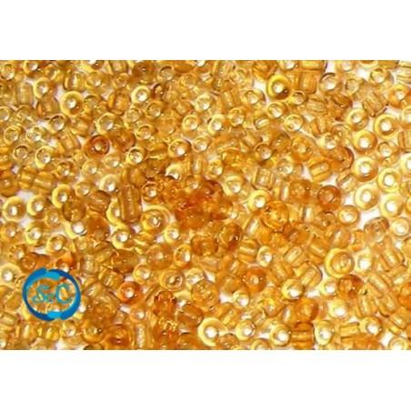 Bolsa de rocalla ámbar Transparente 20 gr