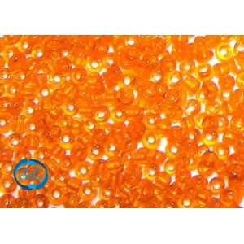 Bolsa de rocalla naranja Transparente 1mm, 20 gr