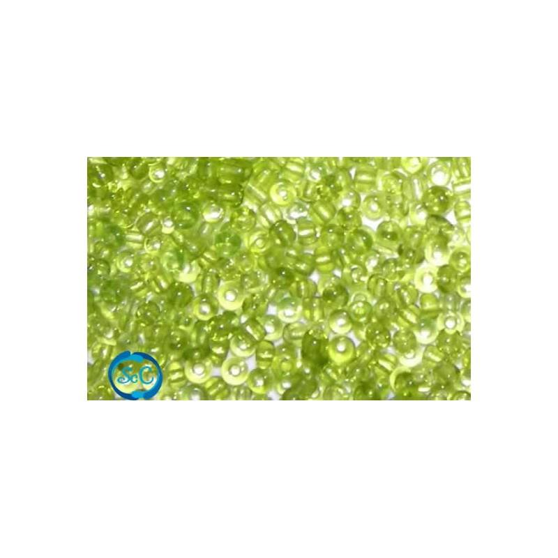 Bolsa de abalorios, Verde claro