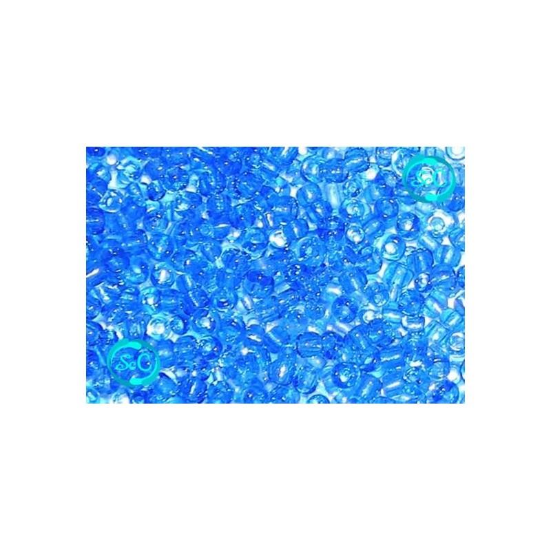 Bolsa de abalorios, azul medio
