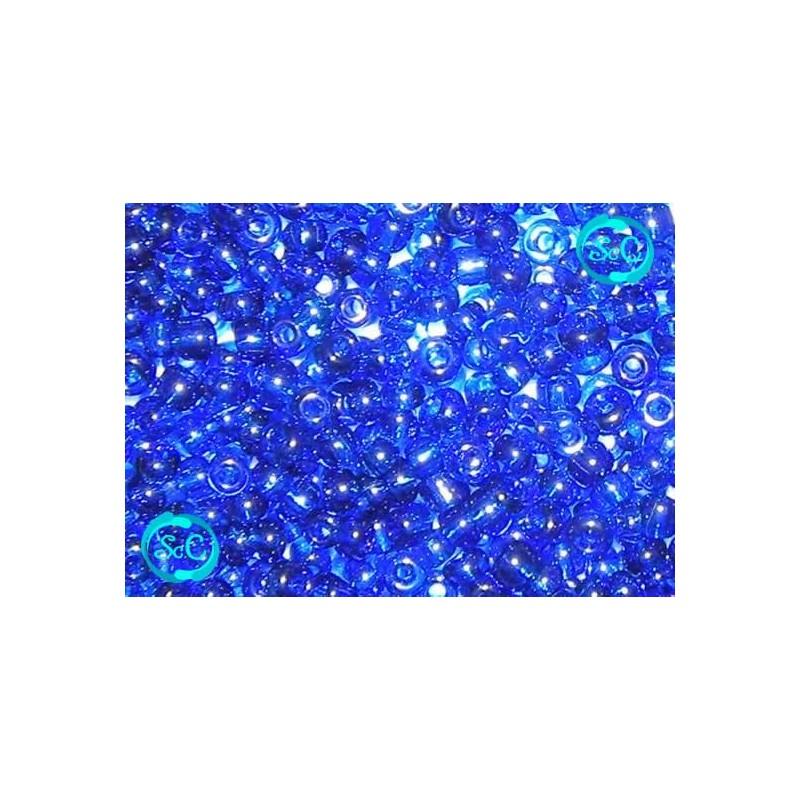 Bolsa de abalorios, azul oscuro