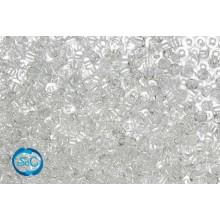 Bolsa de rocalla blanco transparente 1mm, 20 gr