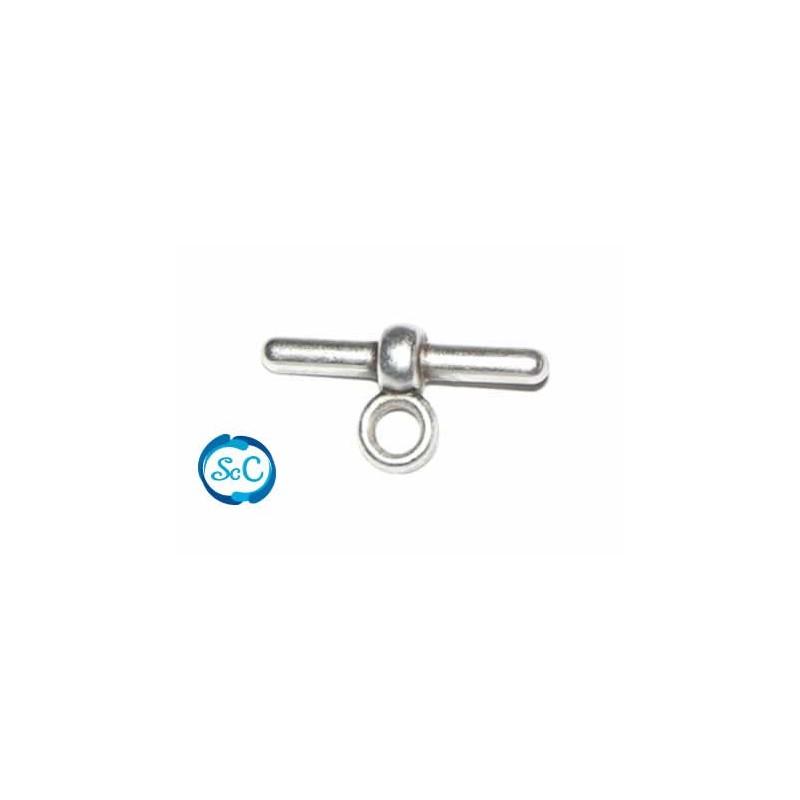 Cierre o conector con anilla cordón caucho