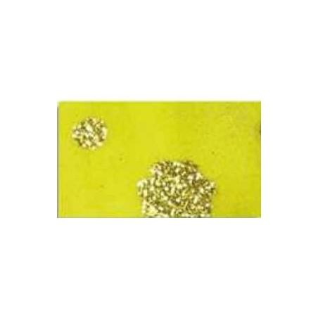 Goma eva estampada Amarillo flores oro