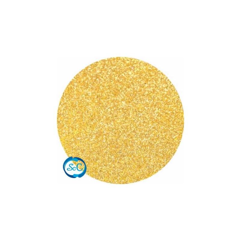 Foamy con purpurina color Oro