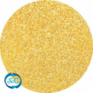 Foamy con purpurina color Oro 45 x 58 cm, 2 mm grosor