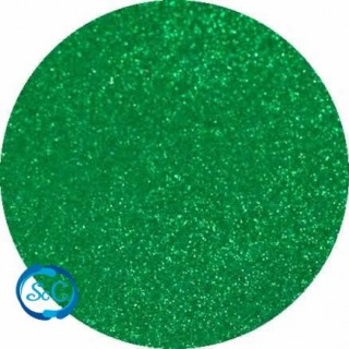 Foamy con purpurina color Verde Musgo