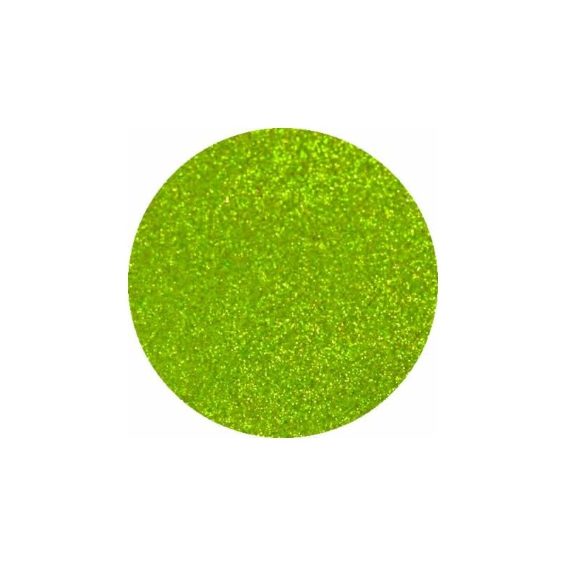Foamy con purpurina color Verde Lima