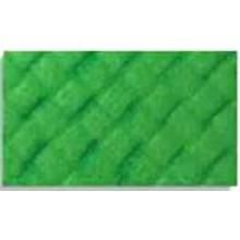 Goma eva con textura Trenza, Verde