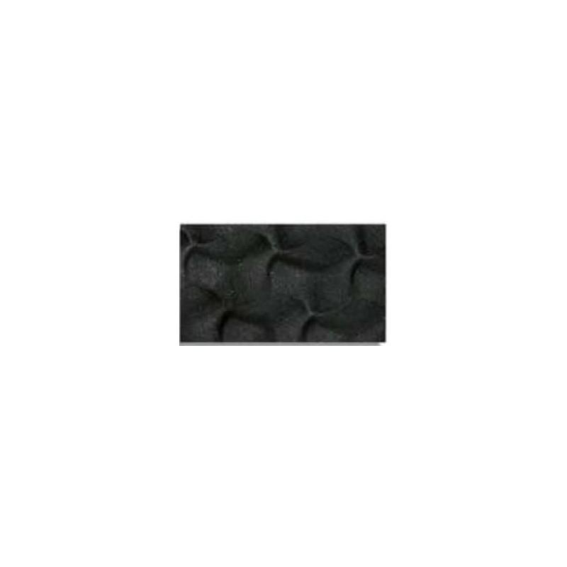 Goma eva con textura Helice, Negra
