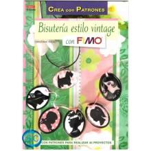 Libro DRAC 04038 Bisutería estilo Vintage con Fimo