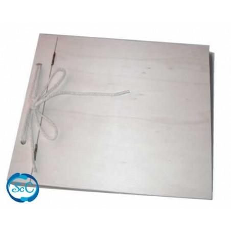 Album de madera 21 x 21 cm