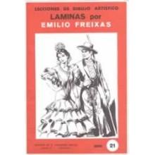 Laminas dibujo E. Freixas Trajes regionales