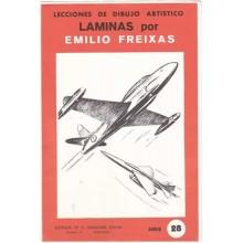 Laminas dibujo E. Freixas Aviones