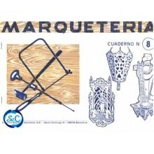 Cuaderno de marqueter a n 8 patrones de altares y farolillo - Cuadernos de marqueteria ...