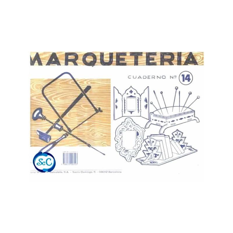 Cuaderno de marqueter a n 14 patrones de un tr ptico - Cuadernos de marqueteria ...
