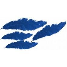 Plumas marabu Azulinas