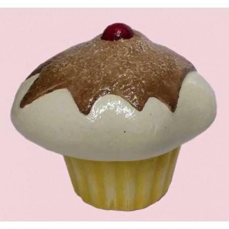 Cupcake nata con guinda