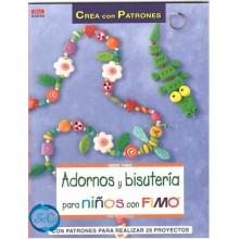 Libro adornos y bisutería para niños con Fimo