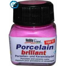 Pintura cerámica rosa