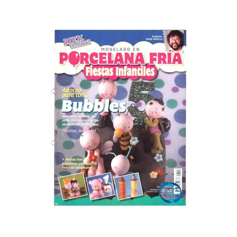 Revista modelado en Pasta Fría fiestas infantiles