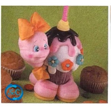 Revista modelado en Pasta Fría, Fiestas infantiles tortuguita