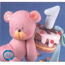 Revista modelado en Pasta Fría, Fiestas infantiles osito