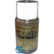 Polvos de relieve para embossimg Oro