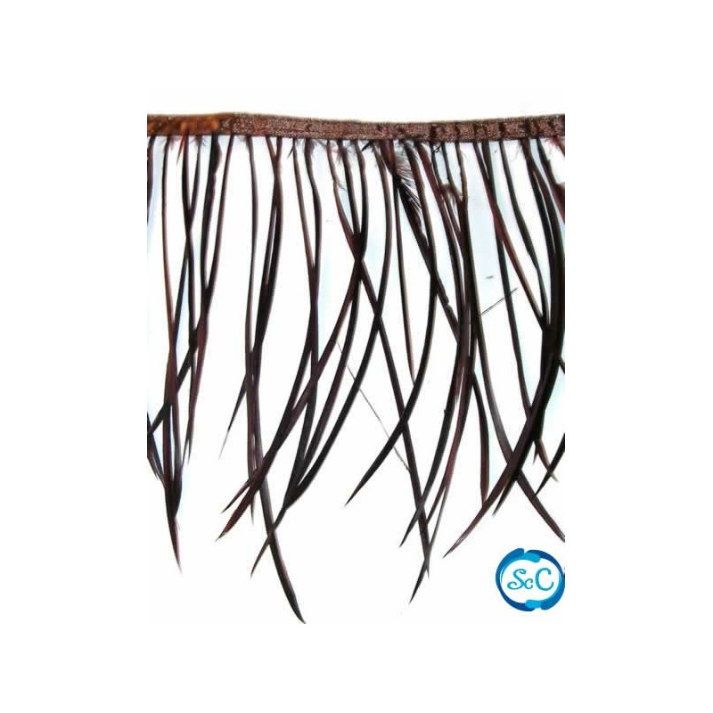 Flecos de plumas color Marrón