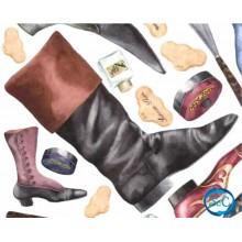 Papael de arroz Zapatos, Botas y botines, detalle 1