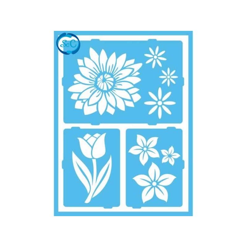 Plantilla Decoart Flores 1