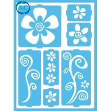 Plantilla Decoart Flores 2