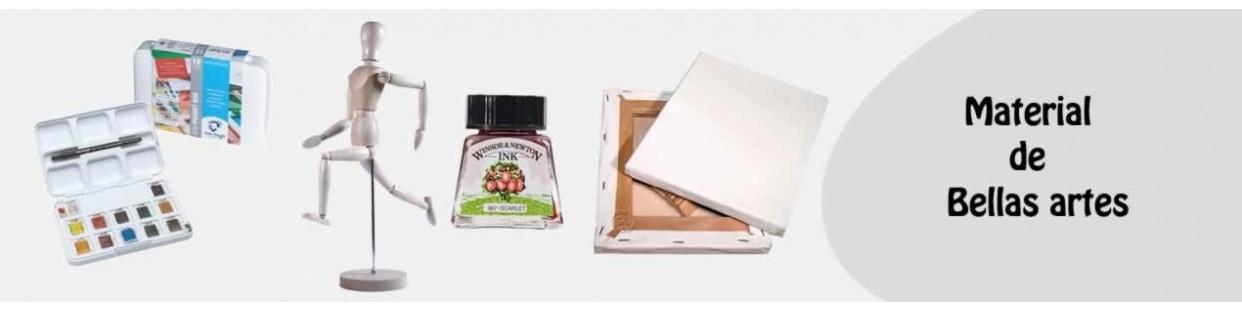 Productos materiales y accesorios para bellas artes