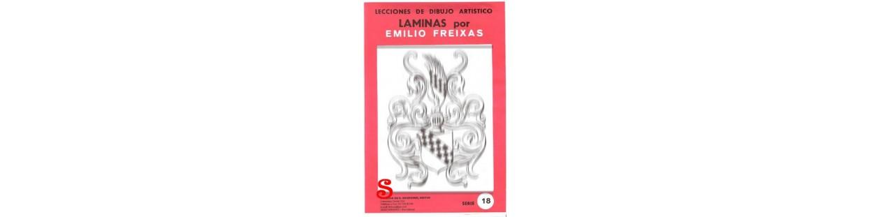 Laminas de dibujo artistico de Emilio Freixas