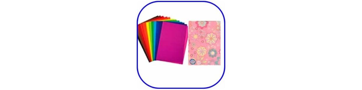 Papel seda de colores y decorado