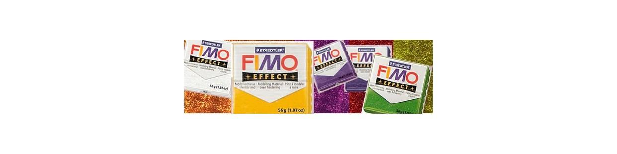 Fimo effect Glitter, pastillas de 56 gr.