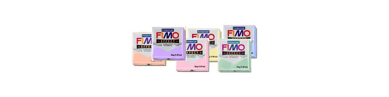 Pastillas de Fimo Effect colores pastel en pastillas de 56 gr.