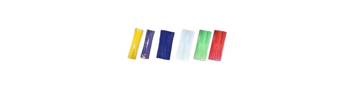 Limpia Pipas de colores para manualidades.