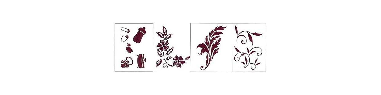 Plantillas stencil Dayka para manualidades