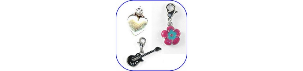 Charms para pulseras divertidos y decorativos.