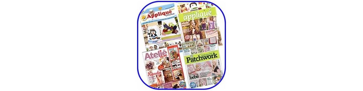 Revistas de Patchwork, publicaciones dedicadas a las técnicas, consejos y trucos de esta artesanía