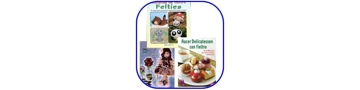 Libros y revistas de fieltro, publicaciones dedicadas a realizar manualidades con fieltro