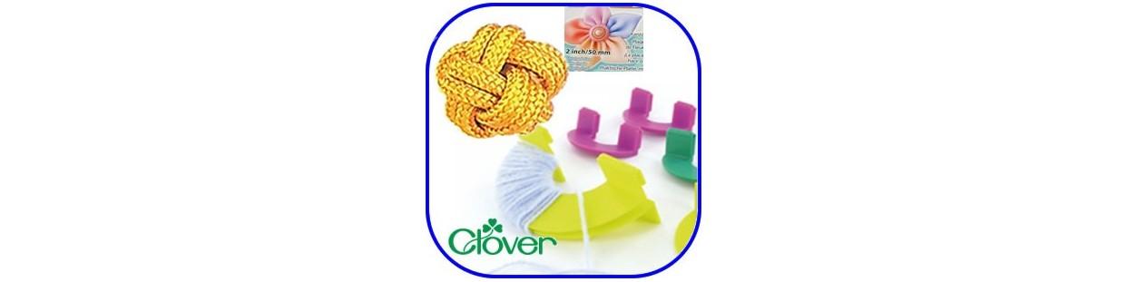 Útiles y accesorios de Clover para realizar flores, nudos