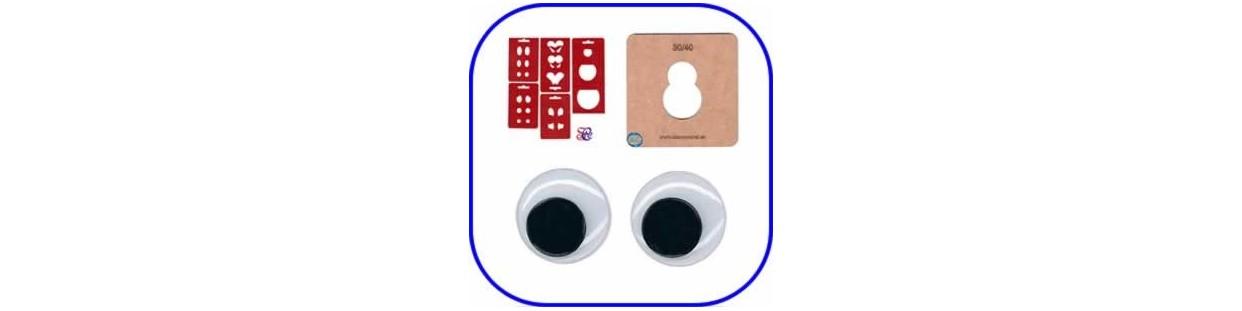 Accesorios para hacer Fofuchas y decoraciones de goma eva