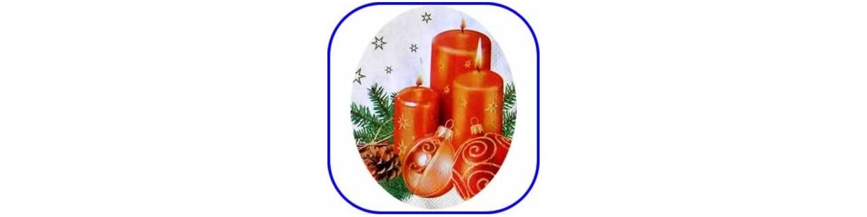 Material para manualidades de Navidad