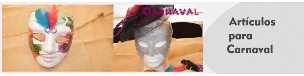 Productos para manualidades de carnaval y disfraces